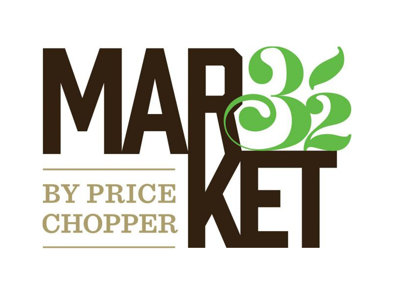 Market 32: A new way of discovering food logo