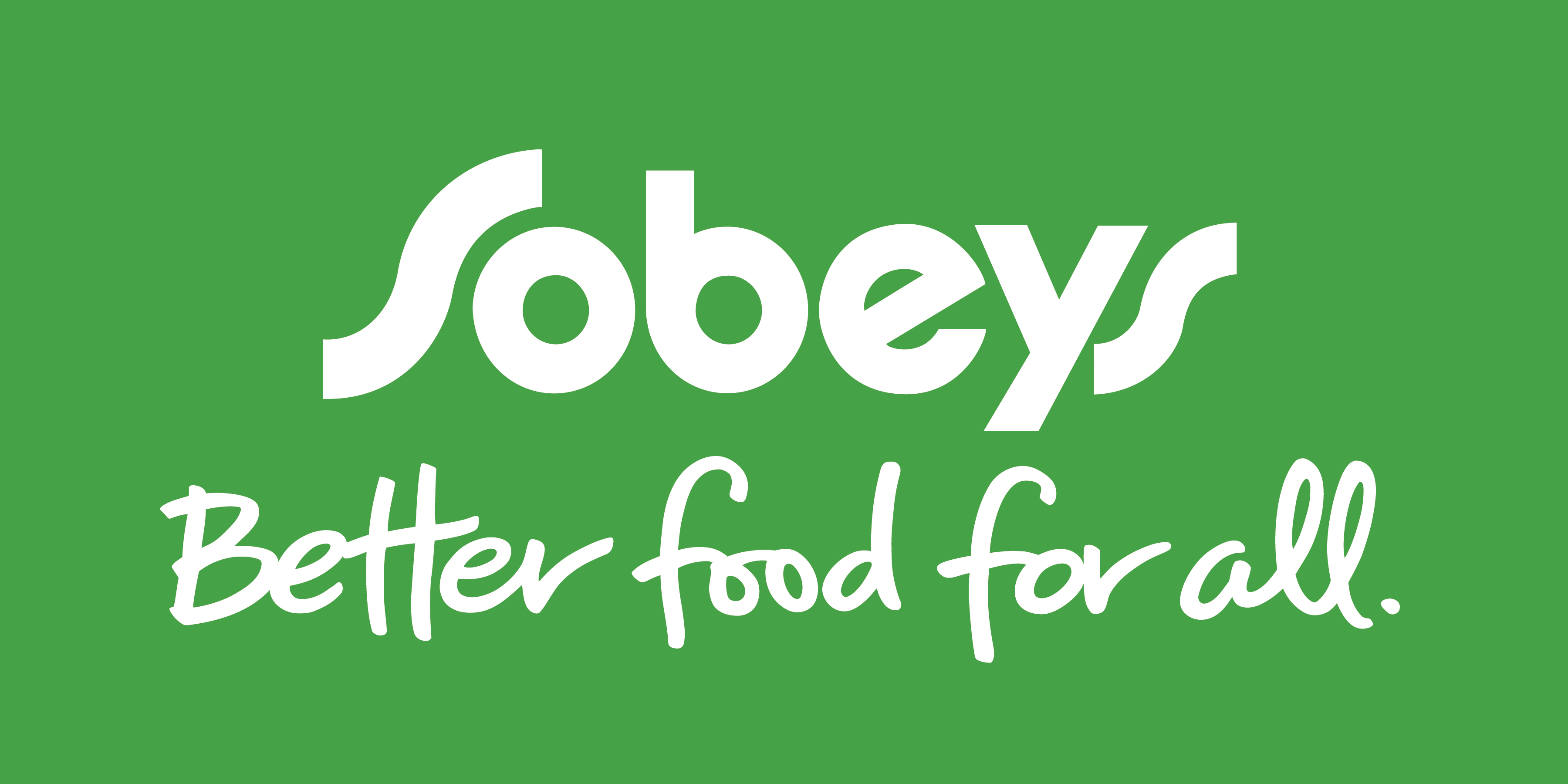 Sobeys: Interlocking higher quality displays logo